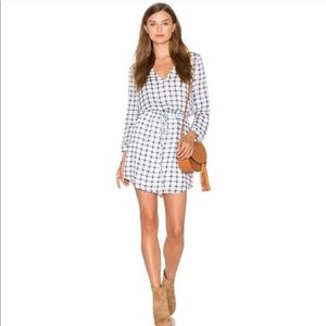 BB Dakota Checkered Dress